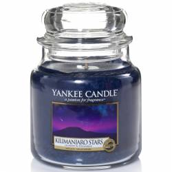 Yankee Candle Jar Glaskerze mittel 411g Kilimanjaro Stars