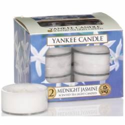 Yankee Candle Teelichter 12er Pack Midnight Jasmine