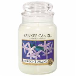 Yankee Candle Jar Glaskerze groß 623g Midnight Jasmine