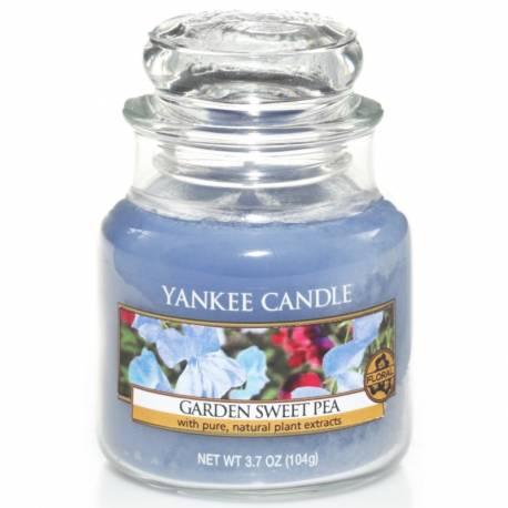 Yankee Candle Jar Glaskerze klein 104g Garden Sweet Pea