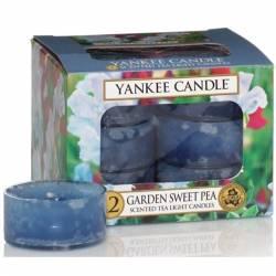 Yankee Candle Teelichter 12er Pack Garden Sweet Pea