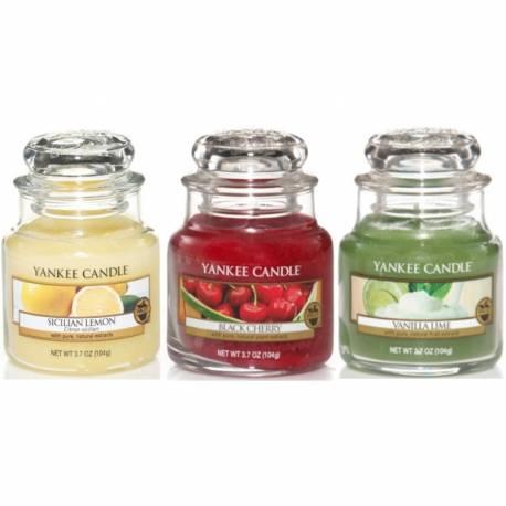 Yankee Candle Spar-Set Fruchtig 3x Jar klein 104g