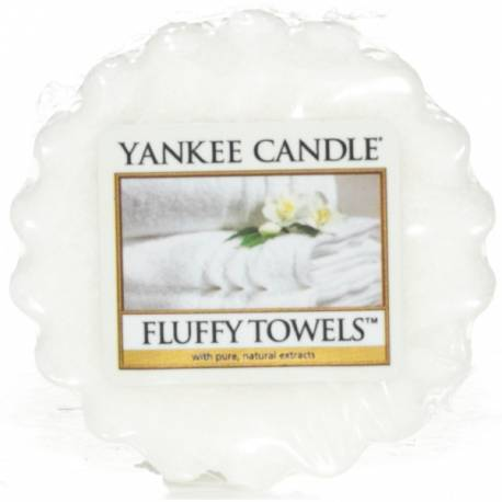 Yankee Candle Tart / Melt Fluffy Towels