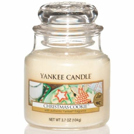 Yankee Candle Jar Glaskerze klein 104g Christmas Cookie