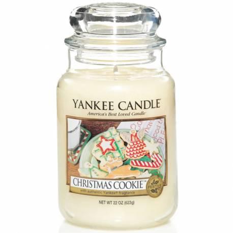 Yankee Candle Jar Glaskerze groß 623g Christmas Cookie