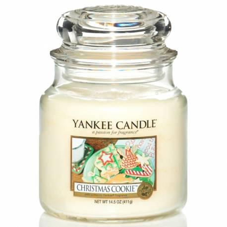 Yankee Candle Jar Glaskerze mittel 411g Christmas Cookie