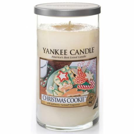Yankee Candle Pillar Glaskerze mittel 340g Christmas Cookie
