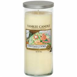 Yankee Candle Pillar Glaskerze gross 538g Christmas Cookie