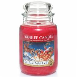 Yankee Candle Jar Glaskerze groß 623g Christmas Eve