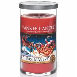 Yankee Candle Pillar Glaskerze mittel 340g Christmas Eve