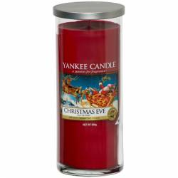Yankee Candle Pillar Glaskerze gross 566g Christmas Eve