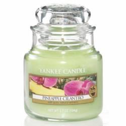 Yankee Candle Jar Glaskerze klein 104g Pineapple Cilantro