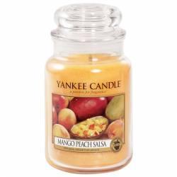 Yankee Candle Jar Glaskerze groß 623g Mango Peach Salsa
