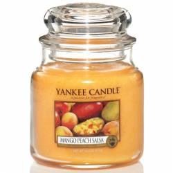 Yankee Candle Jar Glaskerze mittel 411g Mango Peach Salsa