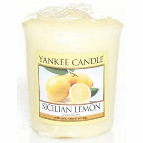 Yankee Candle Sampler Votivkerze Sicilian Lemon