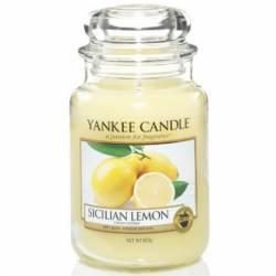 Yankee Candle Jar Glaskerze groß 623g Sicilian Lemon