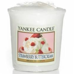Yankee Candle Sampler Votivkerze Strawberry Buttercream