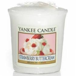 Yankee Candle Sampler Votivkerze Strawberry Buttercream