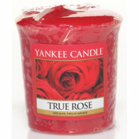 Yankee Candle Sampler Votivkerze True Rose