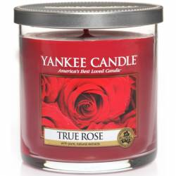 Yankee Candle 1 Docht Regular Tumbler Glaskerze klein 198g True Rose
