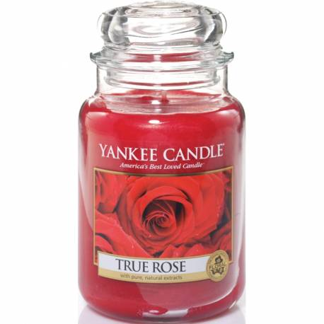 Yankee Candle Jar Glaskerze groß 623g True Rose