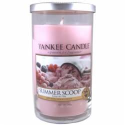 Yankee Candle Pillar Glaskerze mittel 340g Summer Scoop