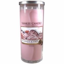 Yankee Candle Pillar Glaskerze gross 566g Summer Scoop