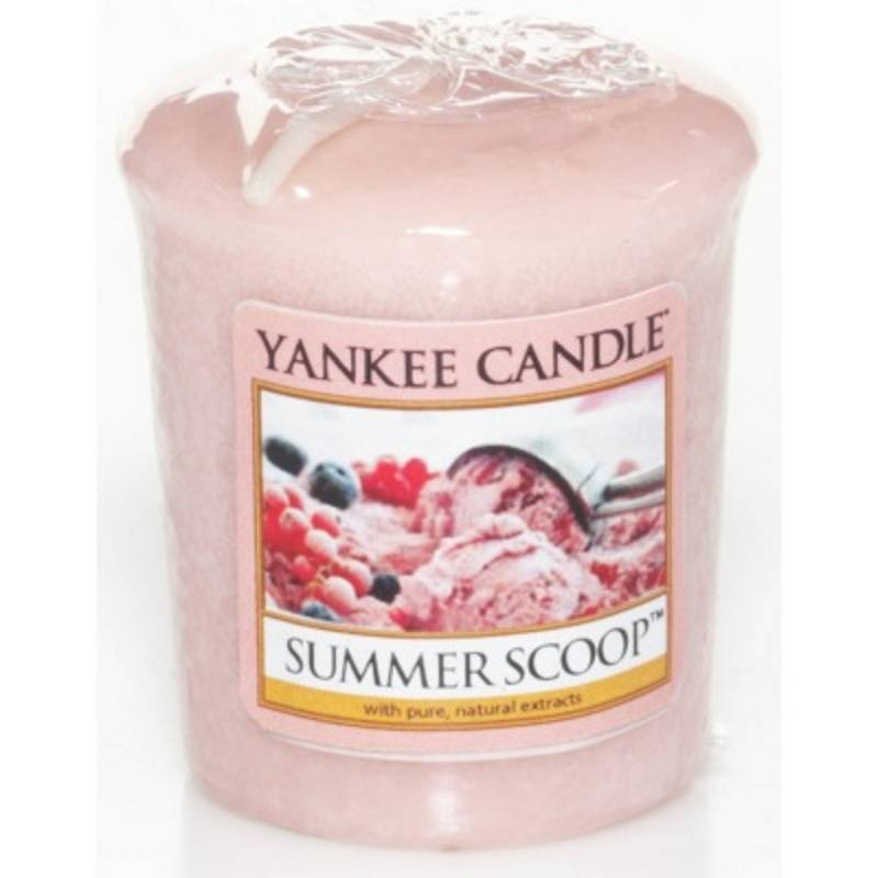 yankee candle sampler votivkerze summer scoop. Black Bedroom Furniture Sets. Home Design Ideas