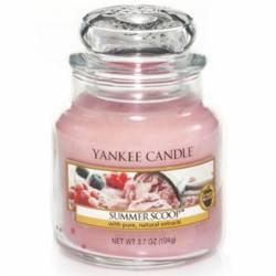 Yankee Candle Jar Glaskerze klein 104g Summer Scoop