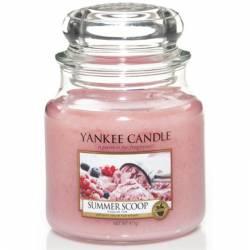 Yankee Candle Jar Glaskerze mittel 411g Summer Scoop
