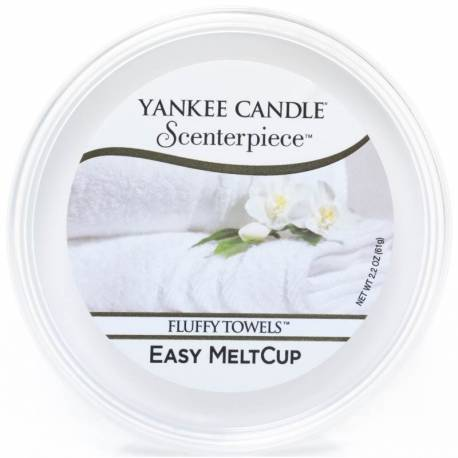 Yankee Candle Easy MeltCup Fluffy Towels