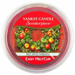 Yankee Candle Easy MeltCup Red Apple Wreath