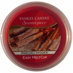 Yankee Candle Easy MeltCup Sparkling Cinnamon