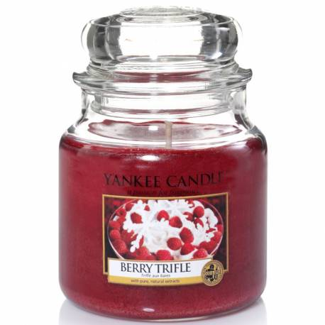 Yankee Candle Jar Glaskerze mittel 411g Berry Trifle