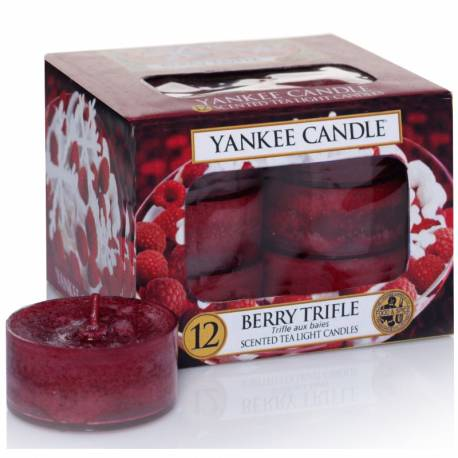 Yankee Candle Teelichter 12er Pack Berry Trifle