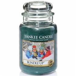 Yankee Candle Jar Glaskerze groß 623g Bundle Up