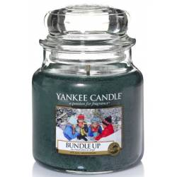 Yankee Candle Jar Glaskerze mittel 411g Bundle Up