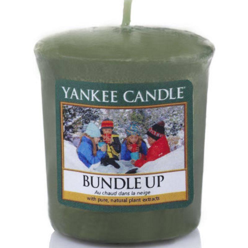 yankee candle sampler votivkerze bundle up. Black Bedroom Furniture Sets. Home Design Ideas