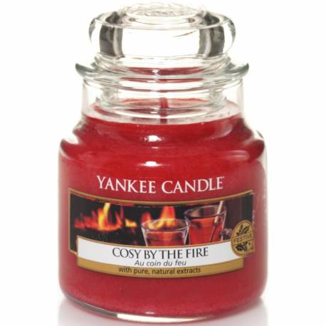 Yankee Candle Jar Glaskerze klein 104g Cosy by the Fire