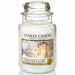 Yankee Candle Jar Glaskerze groß 623g Winter Glow