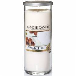 Yankee Candle Pillar Glaskerze gross 566g Shea Butter