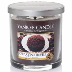 Yankee Candle 1 Docht Regular Tumbler Glaskerze klein 198g Cappuccino Truffle