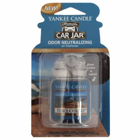 Yankee Candle Car Jar Ultimate Turquoise Sky