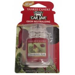 Yankee Candle Car Jar Ultimate Cranberry Pear