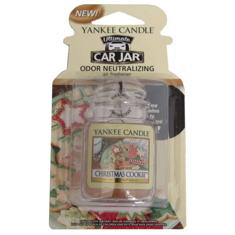 yankee candle car jar ultimate christmas cookie. Black Bedroom Furniture Sets. Home Design Ideas