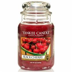 Yankee Candle Jar Glaskerze groß 623g Black Cherry