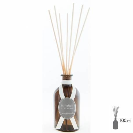 Sandalwood Millefiori Via Brera Stick Diffusor 100 ml