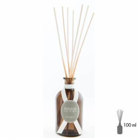Earl Grey Millefiori Via Brera Stick Diffusor 100 ml