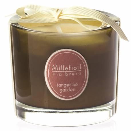 Tangerine Garden Millefiori Via Brera Glas Kerzen 180 g