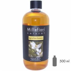 Legni e Fiori d´Arancio Millefiori Natural Refill 500 ml